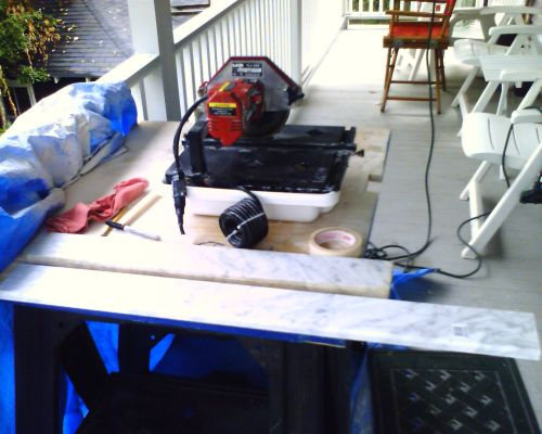 marble and tile saw