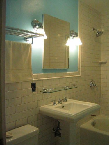 shelf over bathroom sink | My Web Value