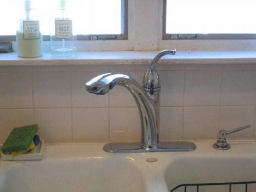 new kitchen sink faucet