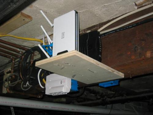 moved network equipment